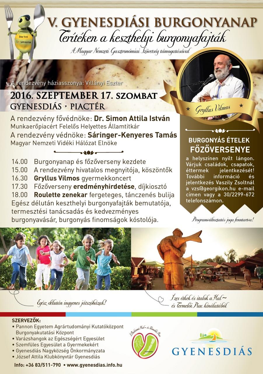 burgonya plakát _2016